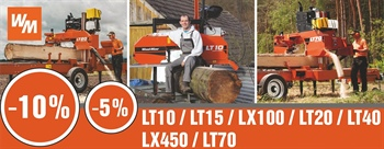 PROMOTION sur les scieries Wood-Mizer !