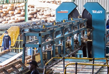 UCL Sawmill about to conclude two-year sawmill efficiency upgrade