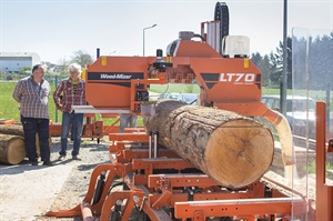 Wood-Mizer France hosts customer day
