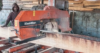 LT40 sawmill cuts structural timber in Africa -...