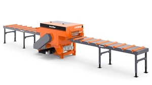 A Wood-Mizer TITAN EG800 allows for next level of efficiency