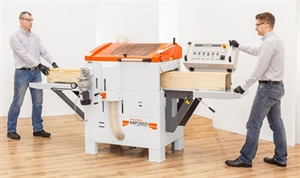 Wood-Mizer Planer Moulder range a first for Africa