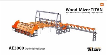 Wood-Mizer TITAN Optimising Edger - AE3000