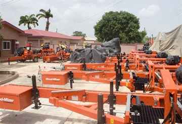 Wood-Mizer's footprint in Ghana grows further
