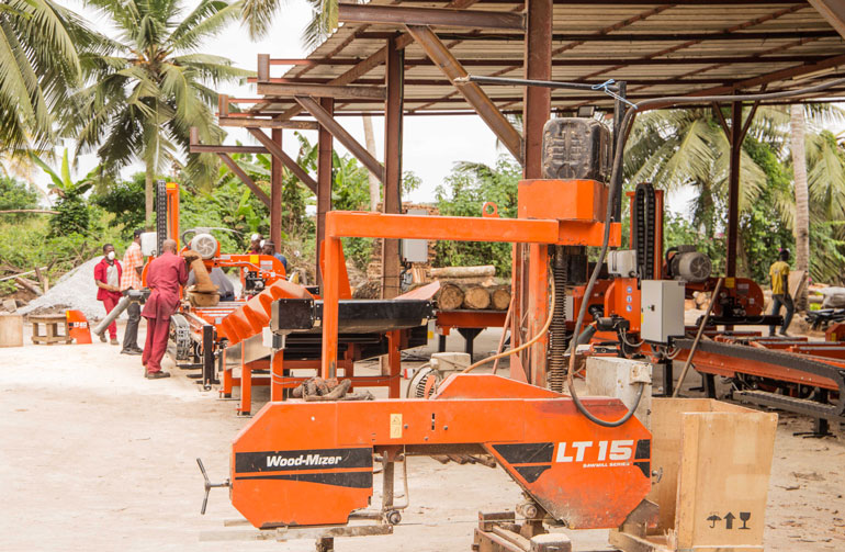 Building a successful business with Wood-Mizer in Ivory Coast - Wood