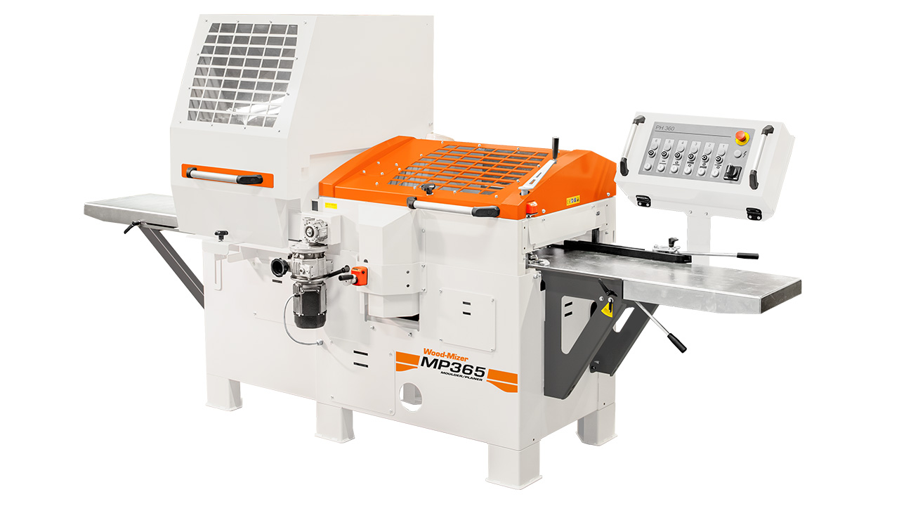 Wood-Mizer MP365 | Four-sided moulder with universal spindle